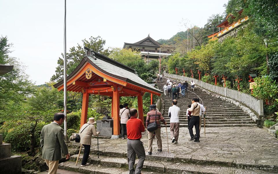 熊野那智大社の表参道