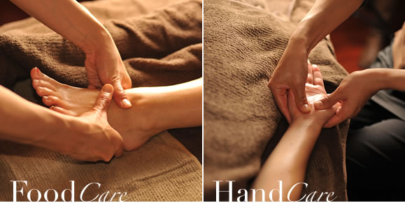 FOOT care  HAND care